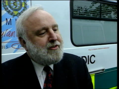 frank dobson mp interview sot my job to set priorities - anti impotence tablet stock videos & royalty-free footage