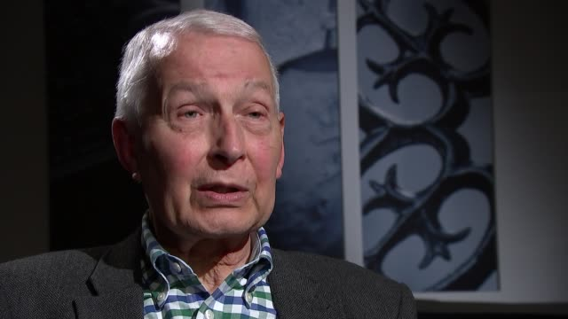 Frank Field interview on resigning Labour whip over antiSemitism row ENGLAND London Millbank Studios INT Frank Field MP interview SOT