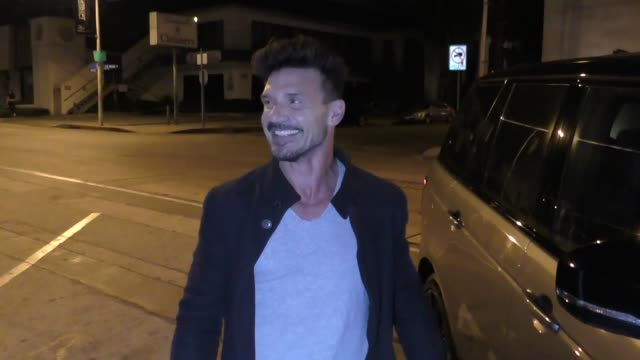 frank grillo defends marvel after martin scorsese's criticism outside craig's restaurant in west hollywood in celebrity sightings in los angeles, - martin scorsese stock videos & royalty-free footage