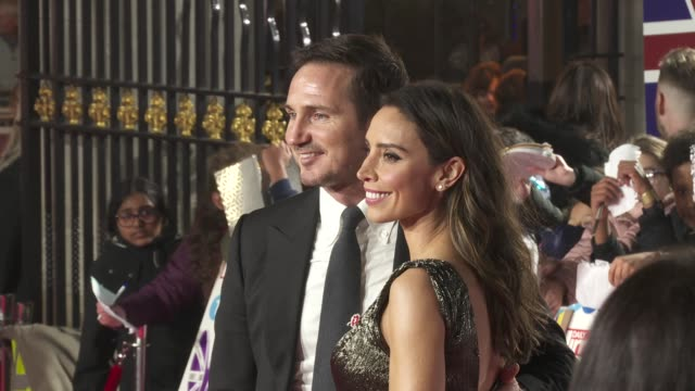 frank lampard and christine lampard at the daily mirror pride of britain awards, in partnership with tsb at the grosvenor house hotel on october 28,... - christine bleakley stock videos & royalty-free footage