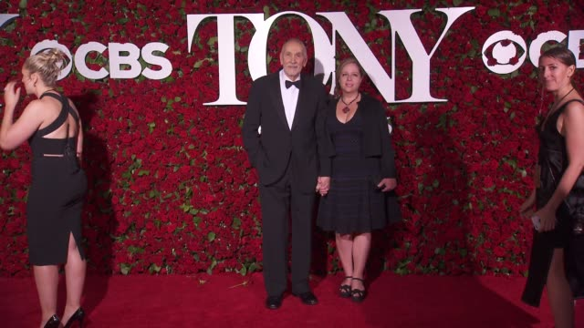 frank langella at 2016 tony awards red carpet at the beacon theatre on june 12 2016 in new york city - 70th annual tony awards stock videos and b-roll footage