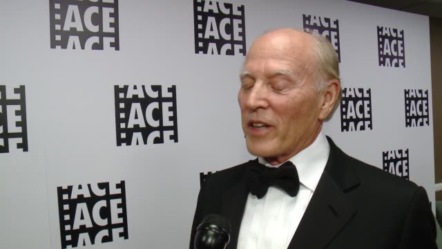INTERVIEW Frank Marshall on the honor at 65th Annual ACE Eddie Awards in Los Angeles CA