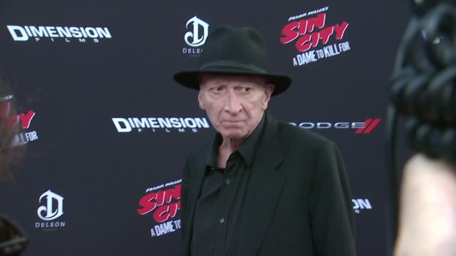 Frank Miller at Sin City A Dame To Kill For Los Angeles Premiere at TCL Chinese Theatre on August 19 2014 in Hollywood California