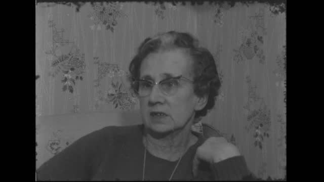 frank mitchell escape:; e: england: ? int mrs. eva peggs who was held hostage by frank mitchell during 1962 escape: sof: says that if frank mitchell... - peter snow stock videos & royalty-free footage