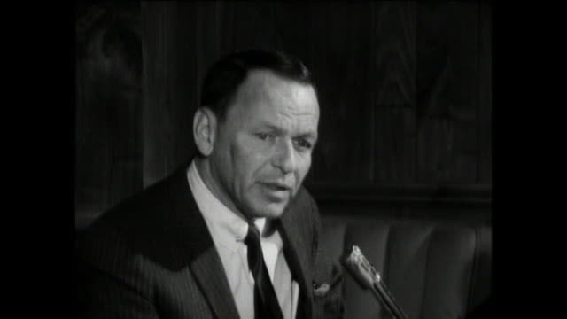 Frank Sinatra INTERVIEW about Producing and Directing movies