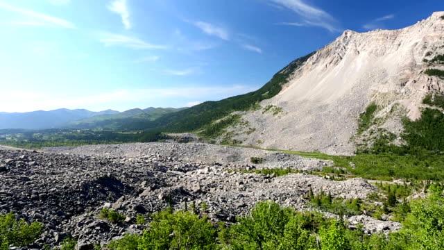 Frank Slide Mountain Landslide Alberta