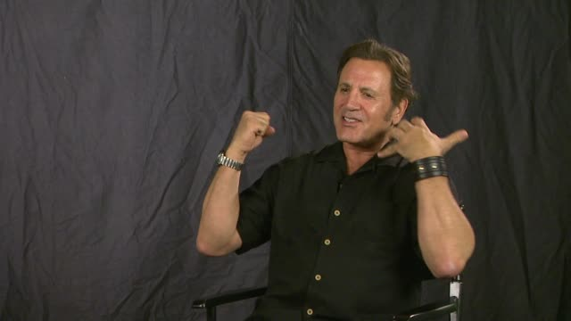 frank stallone on if it's harder trying to prove himself coming from a famous family. interview: frank stallone on if it's harder trying on july 26,... - interview stock videos & royalty-free footage