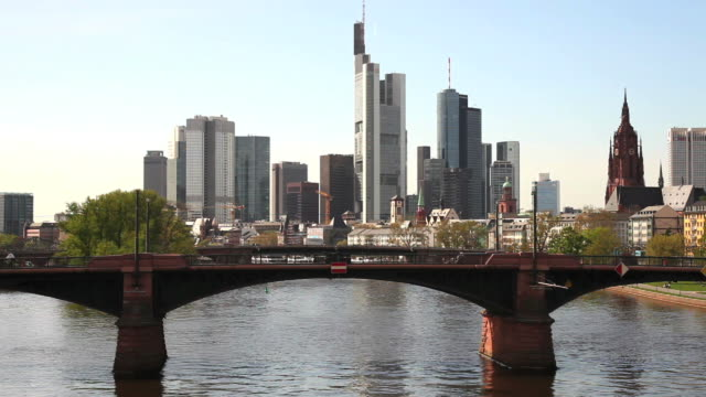 T/L Frankfurt Am Main Skyline