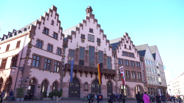 frankfurt am main - famous place stock videos & royalty-free footage