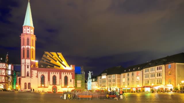 frankfurt roemerberg - römerberg stock videos and b-roll footage
