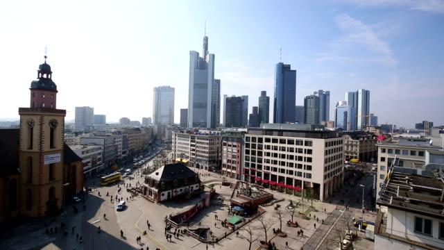 Frankfurt, time lapse