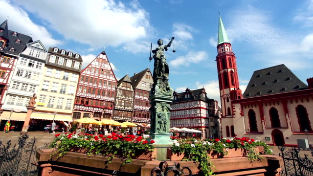 frankfurt - gla building stock videos & royalty-free footage