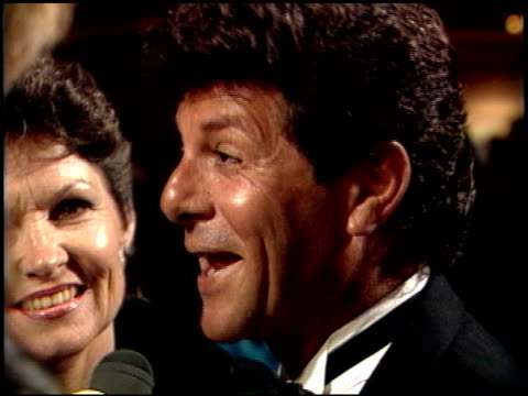 frankie avalon at the american cinema awards 1989 at the beverly hilton in beverly hills, california on january 6, 1989. - frankie avalon stock videos & royalty-free footage