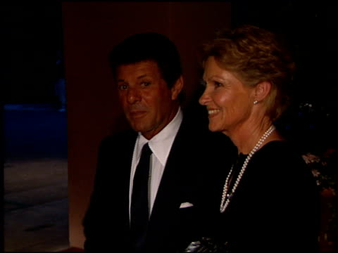 frankie avalon at the david l wolper 50th anniversary dinner at the beverly hilton in beverly hills, california on march 26, 1999. - frankie avalon stock videos & royalty-free footage