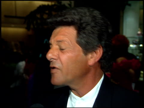 frankie avalon at the duke award odyssey ball at the beverly hilton in beverly hills, california on april 8, 1995. - frankie avalon stock videos & royalty-free footage