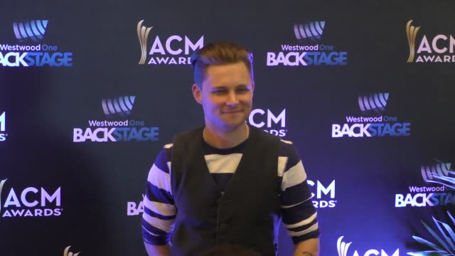 frankie ballard at the 51st academy of country music awards radio row at mgm grand las vegas hotel and casino at celebrity sightings in las vegas on... - frankie vegas stock videos & royalty-free footage