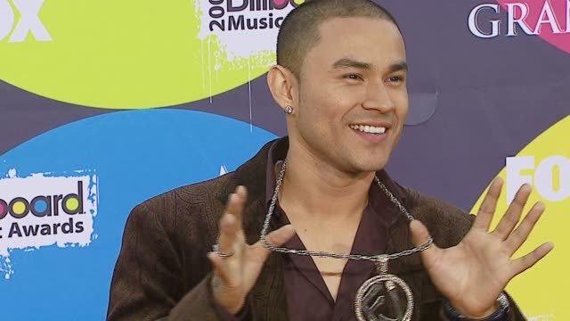 frankie j at the 2006 billboard music awards at the mgm grand hotel in las vegas nevada on december 4 2006 - mgm grand las vegas stock videos & royalty-free footage
