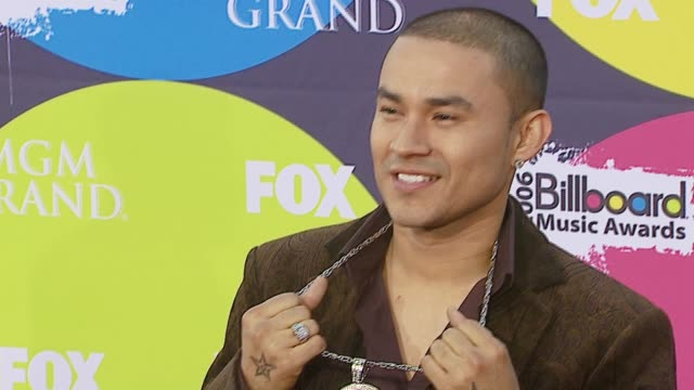 frankie j at the 2006 billboard music awards at the mgm grand hotel in las vegas, nevada on december 4, 2006. - frankie vegas stock videos & royalty-free footage