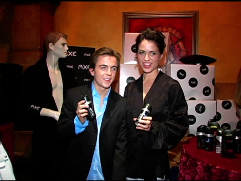 Frankie Muniz and AXE Angel at the Hollywood Life's Young Hollywood Awards and AfterParty Sponsored by Axe on May 1 2005