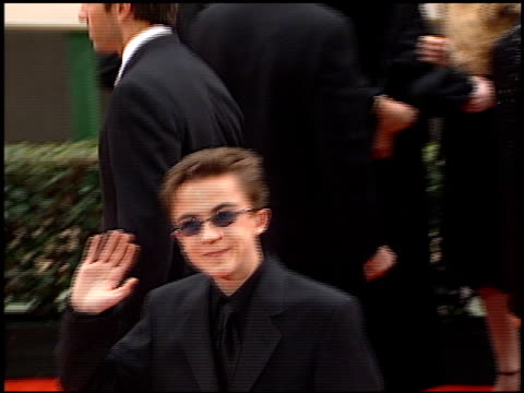 Frankie Muniz at the 2001 Golden Globe Awards at the Beverly Hilton in Beverly Hills California on January 21 2001