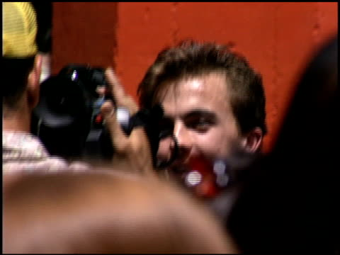 Frankie Muniz at the 'Charlie and the Chocolate Factory' Premiere at Hollywood United Methodist Church in Hollywood California on July 10 2005