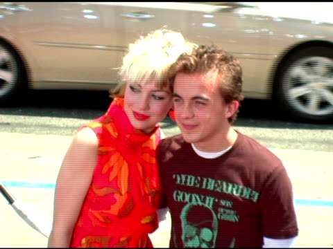 Frankie Muniz at the 'Charlie and the Chocolate Factory' Premiere at Grauman's Chinese Theatre in Hollywood California on July 10 2005