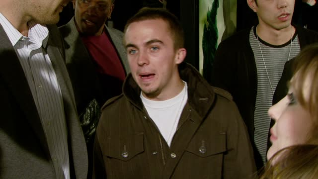 Frankie Muniz at the 'Cloverfield' Premiere at the Paramount Theatre in Los Angeles California on January 16 2008