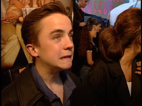 Frankie Muniz at the Josie and the Pussycats Premiere at Galaxy Theater Hollywood in Hollywood CA