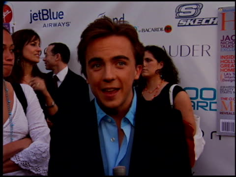 Frankie Muniz at the Movieline Young Hollywood Awards at the Fonda in Hollywood California on May 1 2005