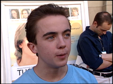 Frankie Muniz at the 'Tuck Everlasting' Premiere at the El Capitan Theatre in Hollywood California on October 5 2002