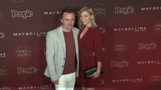 Frankie Muniz Paige Price at People's 'One To Watch' Celebration in Los Angeles CA