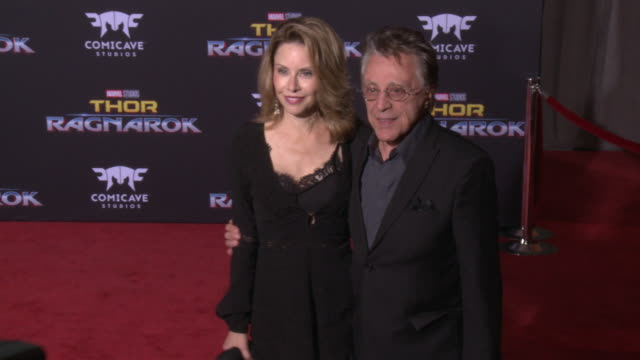 frankie valli at the thor ragnarok premiere at the el capitan theatre on october 10 2017 in hollywood california - thor: ragnarok stock videos & royalty-free footage