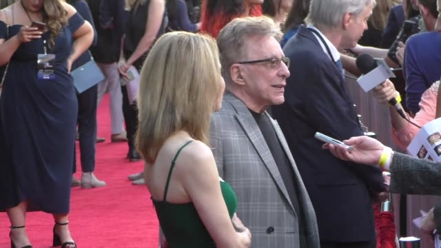 frankie valli jackie jacobs greet fans outside the ad astra premiere at arclight cinerama dome in hollywood in celebrity sightings in los angeles - cinerama dome hollywood stock videos & royalty-free footage