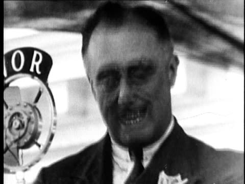 Franklin Delano Roosevelt delivering speech on March 23 1933 and signing CullenHarrison Act USA AUDIO