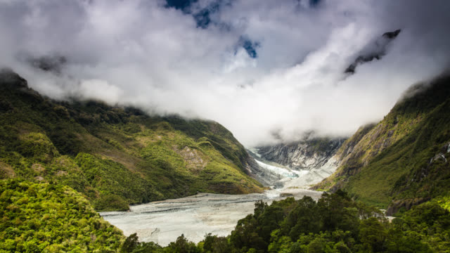 TIME LAPSE: Franz Josef Glacier New Zealand