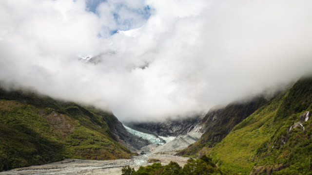 TIME LAPSE: Franz Josef Glacier Valley