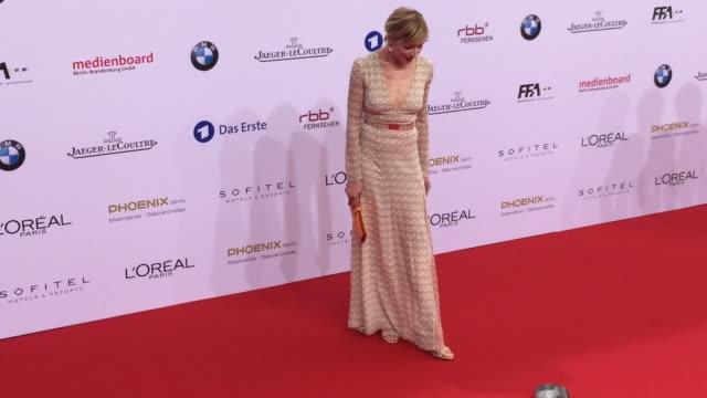 Franziska Weisz at the Lola German Film Award at Messe Berlin on May 27 2016 in Berlin Germany