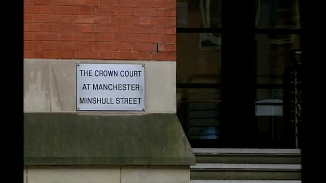 Fraudster poses as forensic investigator for almost thirty years Sign 'The Crown Court at Manchester Minshull Street' General views of Manchester...