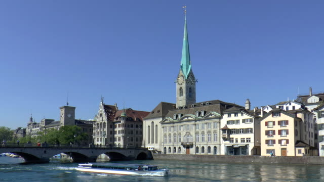 Fraumünster Church-Zürich, Schweiz