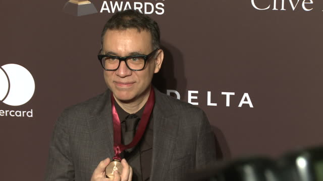 fred armisen at the clive davis' and the recording academy's pre-grammy gala at the beverly hilton hotel on february 09, 2019 in beverly hills,... - the beverly hilton hotel stock videos & royalty-free footage