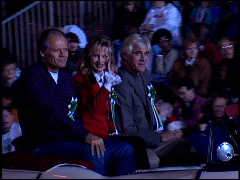 fred dryer at the hollywood christmas parade on december 3 1995 - sfilata di natale di hollywood video stock e b–roll