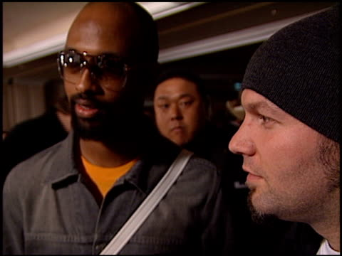 fred durst at the clive davis' grammy awards party at the beverly hilton in beverly hills, california on february 20, 2001. - clive davis stock videos & royalty-free footage