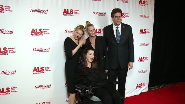 fred fisher renee zellweger nanci ryder at the als association golden west chapter's 2017 champions for care and a cure at fairmont miramar hotel on... - renee zellweger stock videos & royalty-free footage