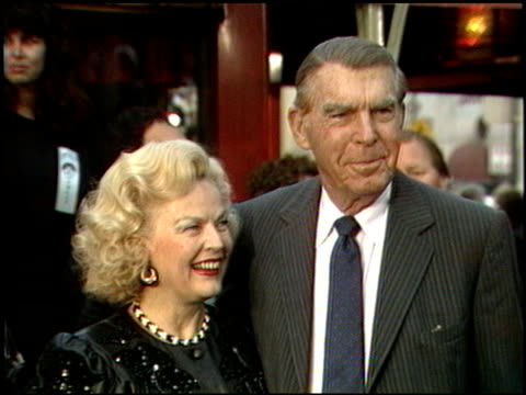 fred macmurray at the beverly hills cop ii premiere at grauman's chinese theatre in hollywood california on may 19 1987 - 1987 stock videos & royalty-free footage