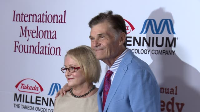 fred willard and loreine boyle at international myeloma foundation 6th annual comedy celebration benefiting the peter boyle research fund on 10/27/12... - peter boyle stock videos & royalty-free footage