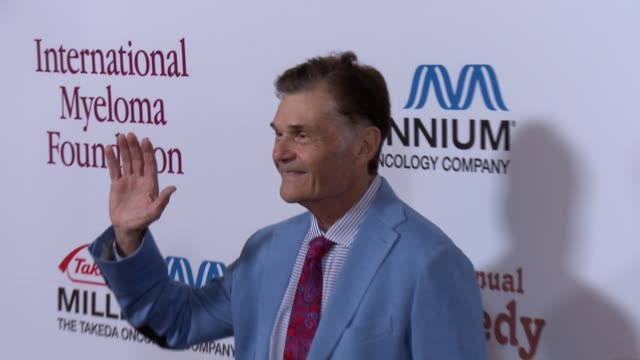 fred willard arrives at international myeloma foundation 6th annual comedy celebration benefiting the peter boyle research fund on 10/27/12 in los... - peter boyle stock videos & royalty-free footage