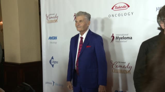 fred willard at international myeloma foundation's 11th annual comedy celebration benefiting the peter boyle research fund at the wilshire ebell... - wilshire ebell theatre stock videos & royalty-free footage