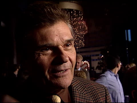 fred willard at the 'a mighty wind' premiere at director's guide dga theater in los angeles california on april 14 2003 - dga theater stock videos & royalty-free footage