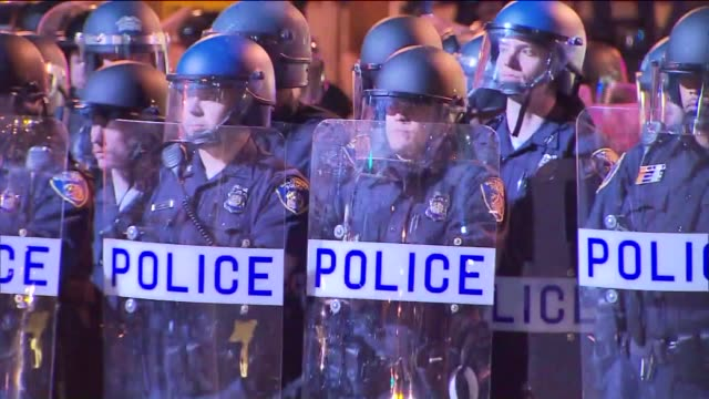 Freddie Gray Baltimore Riots on April 28 2015 in Baltimore Maryland
