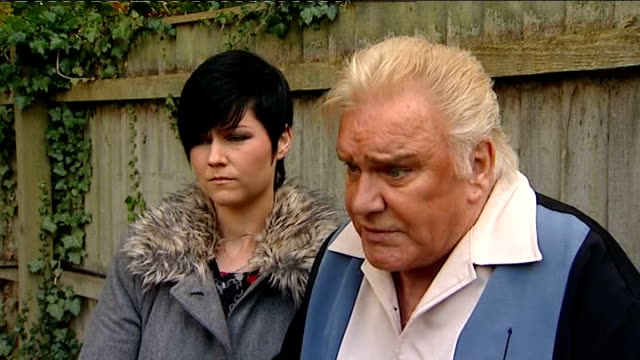 Freddie Starr interview on abuse claims Warwickshire Studley EXT Freddie Starr interview SOT I do not like being tarred with same brush as Jimmy...